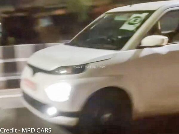 Toyota WagonR test mule spied