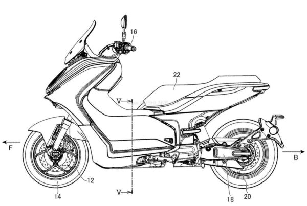 Yamaha E01 Electric Scooter Production Spec Patent Leaks
