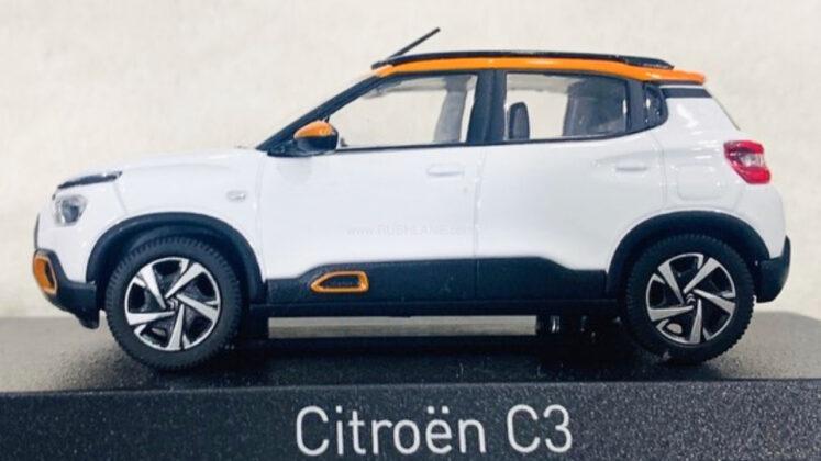 New Citroen C3 for India