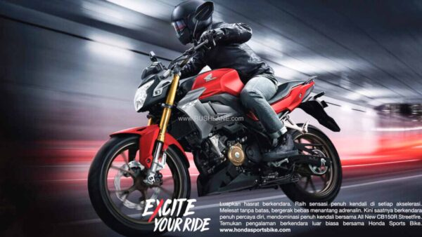New Honda CB 150R Streetfire