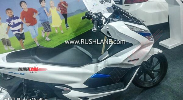 Honda PCX Electric scooter showcased in India