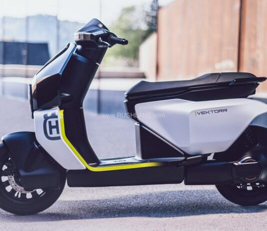 Husqvarna Electric Scooter Concept - Vektorr