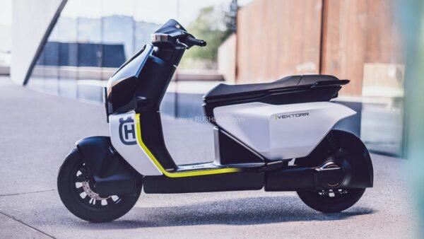 Husqvarna Electric Scooter Concept - Vektorr