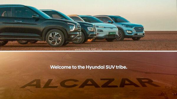 Hyundai Alcazar Coming Soon Teaser