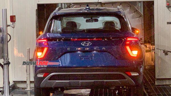 Hyundai Creta rolling out of the Chennai plant