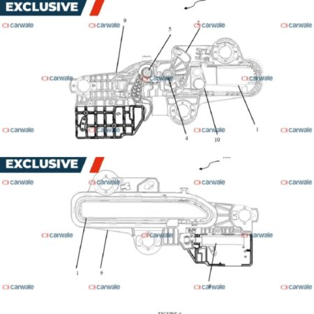 Mahindra XUV700 Flush Door Handle Design Patent
