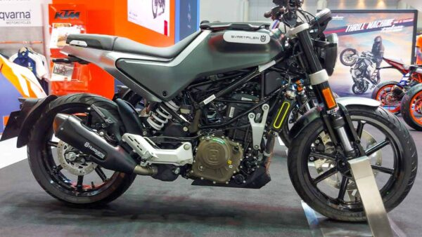 New Husqvarna Motorcycle