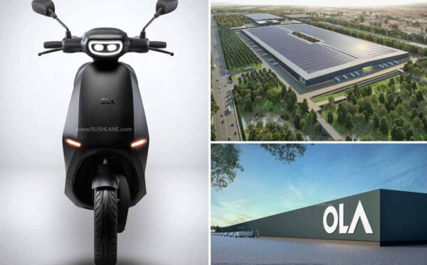 Ola Electric Scooter India Plant - 3D Render
