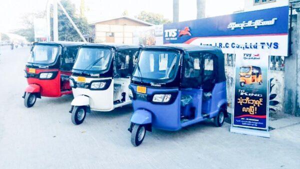 TVS Rickshaw Sales April 2021
