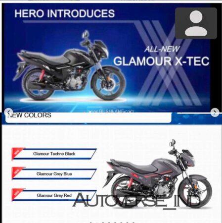 Hero Glamour XTEC