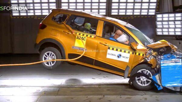 2021 Renault Triber Crash Test - Global NCAP