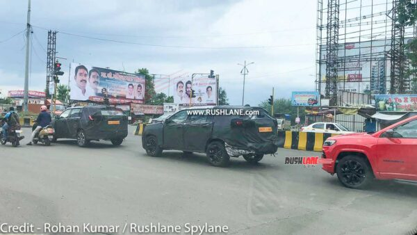 Jeep Grand Commander SUV - Compass 7 Seater Spied In India