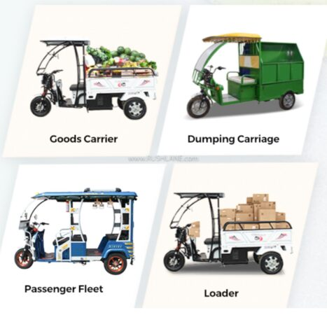Ampere Electric Rickshaw