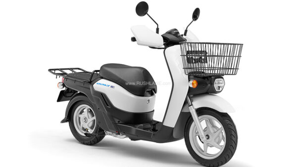 Honda electric scooter with battery swap tech - Benly e