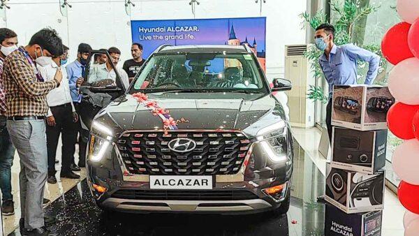 New Hyundai Alcazar Delivery Starts