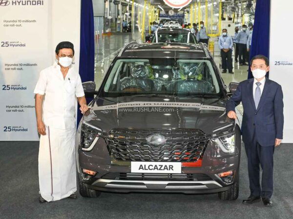 Hyundai India rolls out their car now 10 millionth (1 crore)