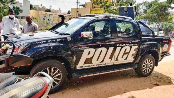 Isuzu D-Max V-Cross Police Vehicle