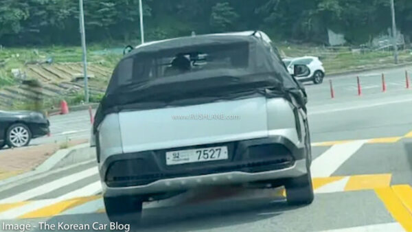 Kia Seltos Electric SUV