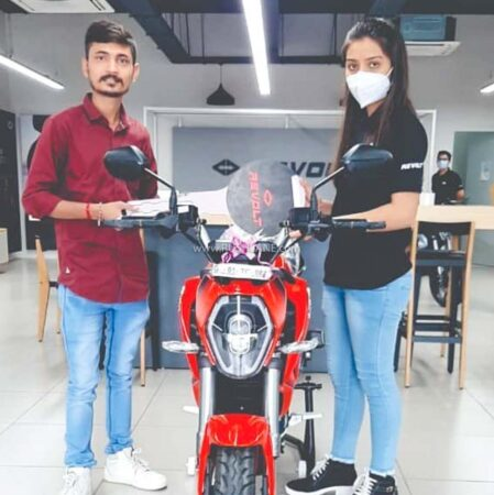 Revolt Motorcycle Delivery - Ahmedabad