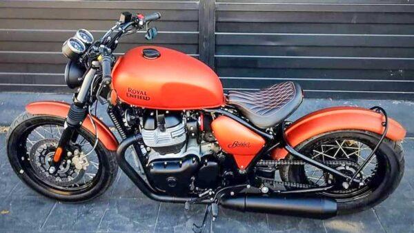 Royal Enfield 650cc Bobber - Modified