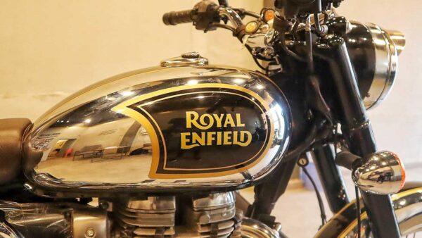Royal Enfield Sales May 2021