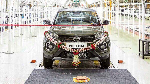 Tata Nexon 2 Lakh Production Milestone