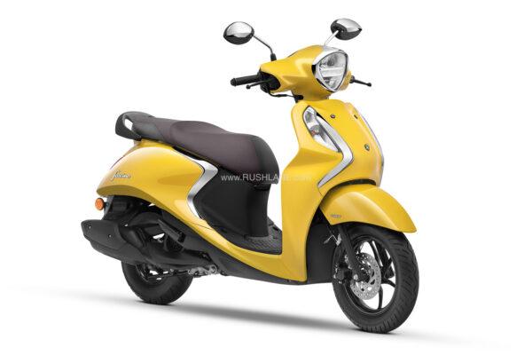 New Yamaha Fascino Hybrid Powered Scooter