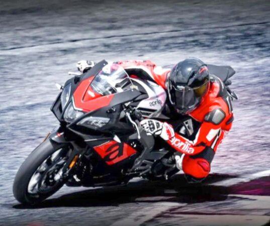 New Aprilia 250cc Motorcycle