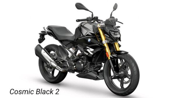 2021 BMW G310R - New Black Colour