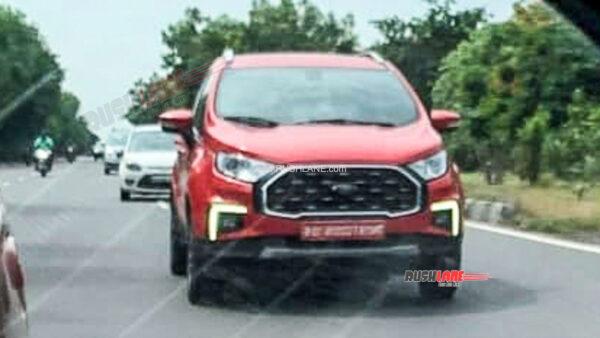2021 Ford EcoSport Facelift