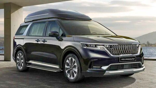 New Kia Carnival 4 Seat Limousine MPV