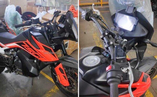 KTM 790 Adv spied in India