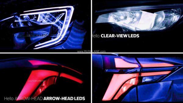Mahindra XUV700 LED Headlight and Tail Light