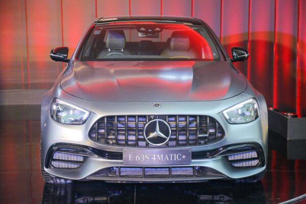 New Mercedes AMG E 63 4M+