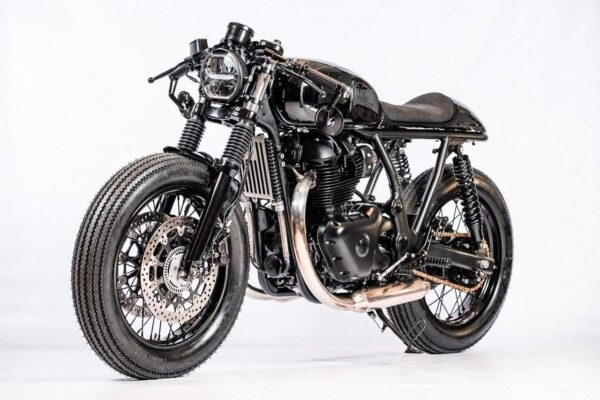 Royal Enfield 650 Modified By STG Tracker