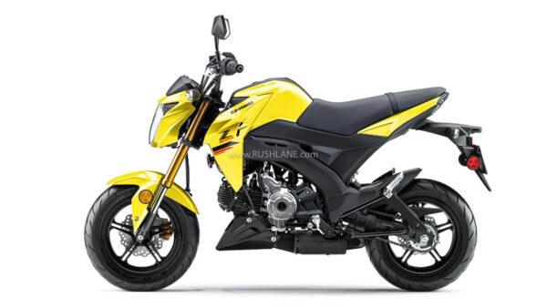 2022 Kawasaki Z125 PRO