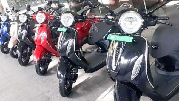 Bajaj Chetak Electric Scooters