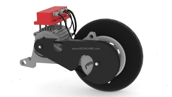 Petrol to Electric Scooter Conversion Kit by Starya Mobility