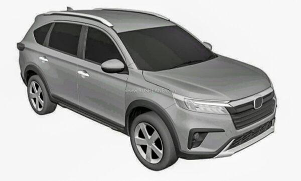 Honda N7X Production Spec Design Patent