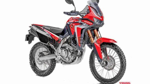 Honda NX200 ADV Render