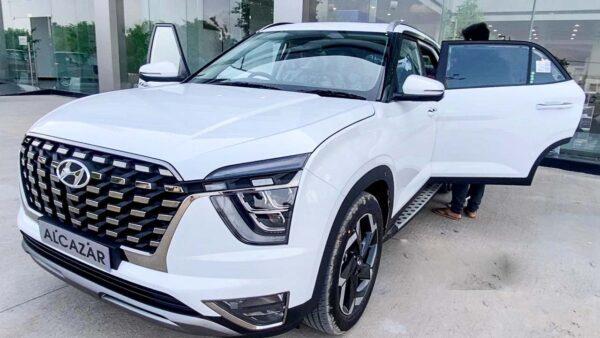 Hyundai Alcazar Bookings Record
