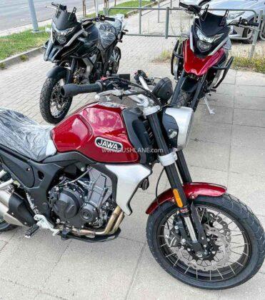 Jawa 500cc Scrambler