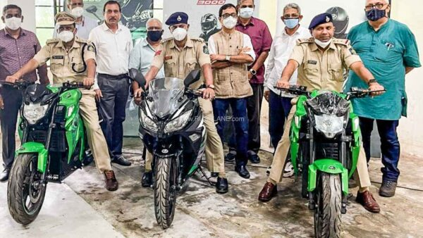 Kabira Electric Motorcycles For Goa Police