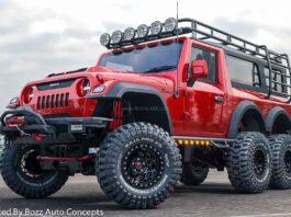 Mahindra Thar 6x6 Crosland By Bozz AutoModz