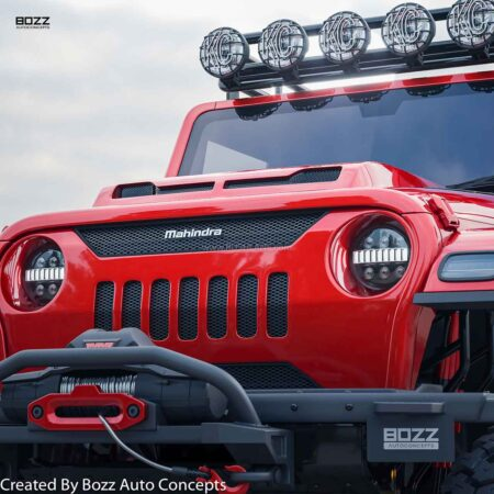 Mahindra Thar 6x6 Crosland By Bozz Concepts