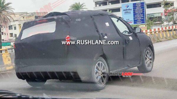 Mahindra XUV700 Production Spec