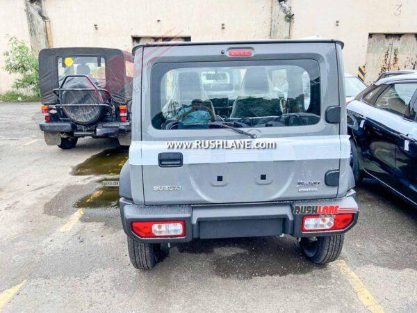 Maruti Suzuki Jimny Spied At Car Yard