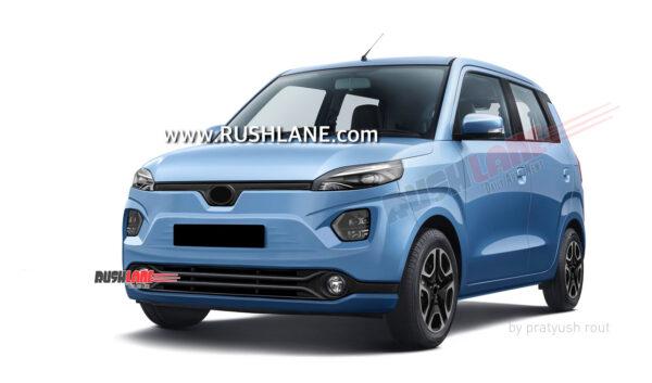 Maruti Suzuki Electric Car Render