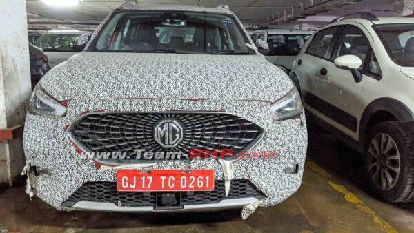 MG Astor SUV For India