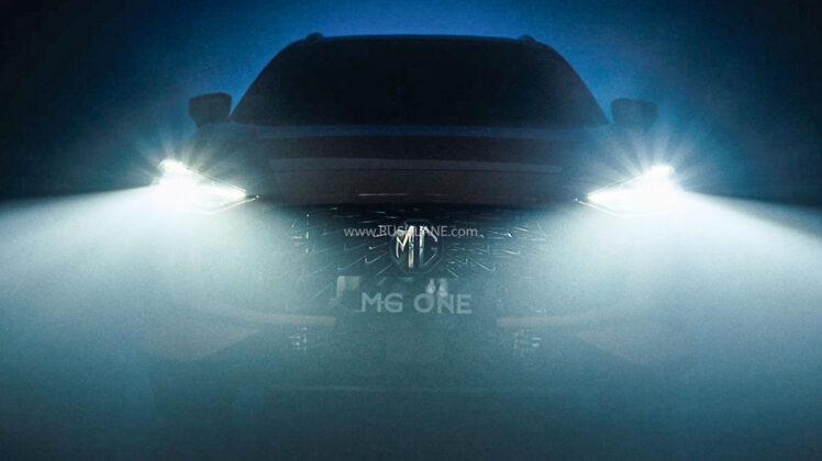 New MG One SUV